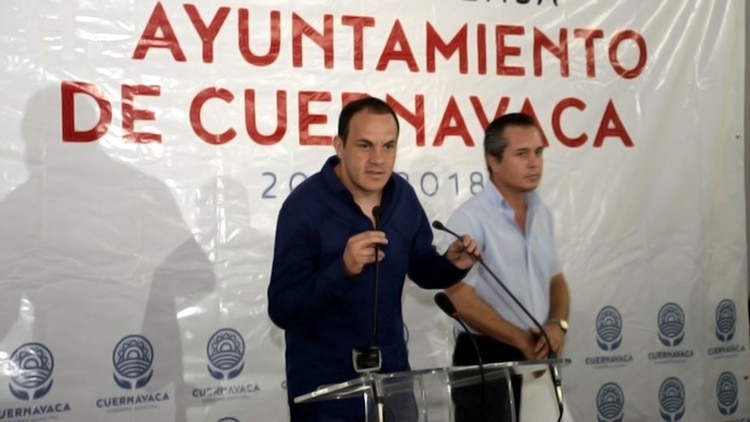 Cuauhtémoc Blanco was mayor of the municipality of Cuernavaca from 2015 to 2018 (Photo: City Hall of Cuernavaca)