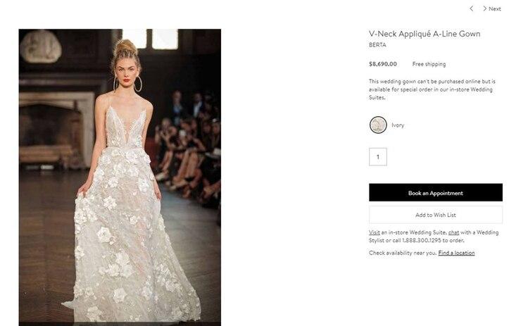 los secretos detrás del lujoso vestido de novia de dalma maradona