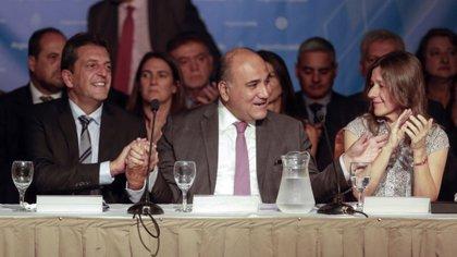 El mandatario de Tucumán, Juan Manzur, otro de los impulsores de la suspensión de las PASO
