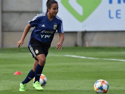 Dalila Ippólito juega en River y en la selección argentina (Stefanía León – AFA)