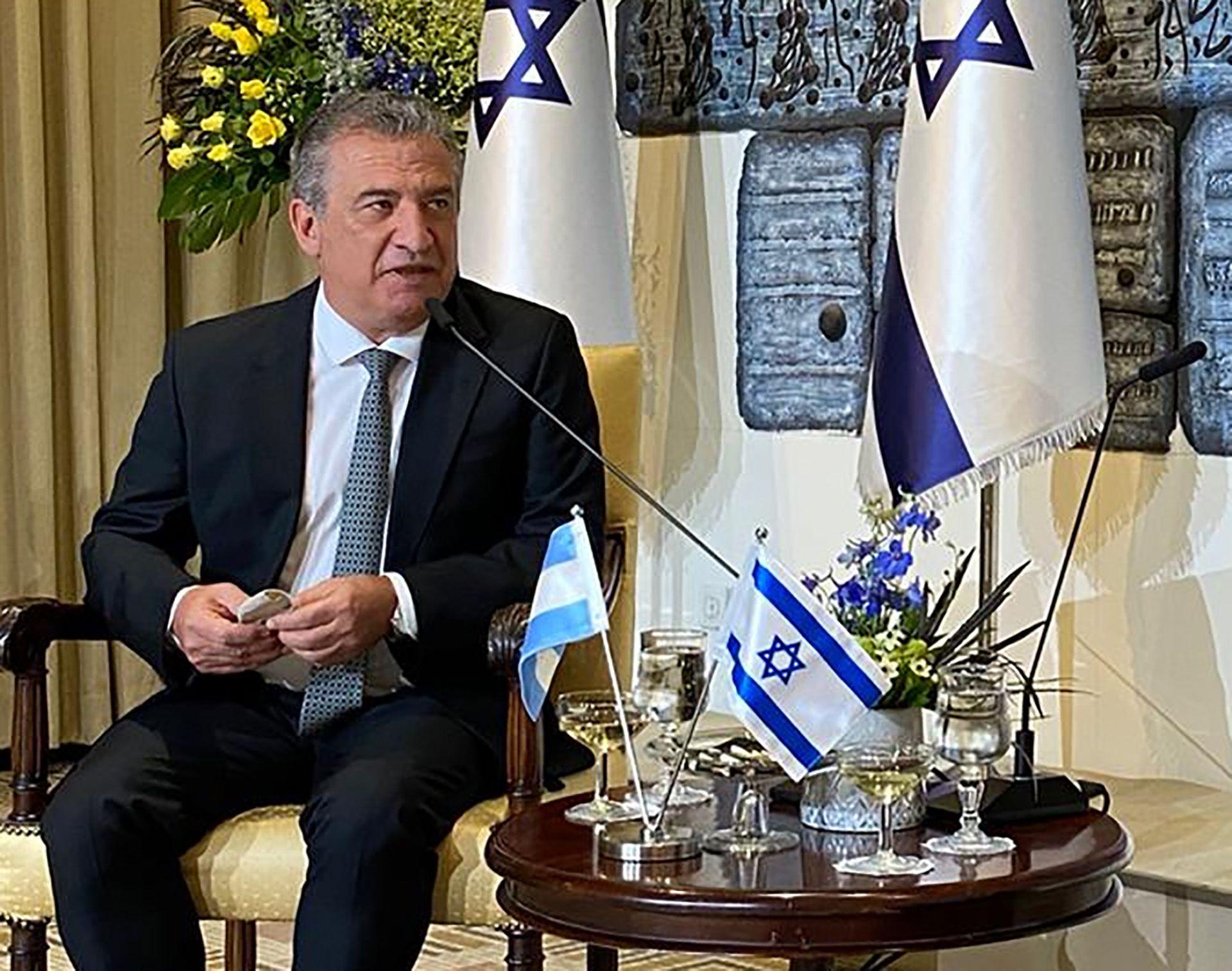 Sergio Urribarri diplomático Israel