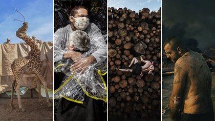 Silencio, desastre, esperanza y pandemia: 10 postales ganadoras del World Press Photo 2021