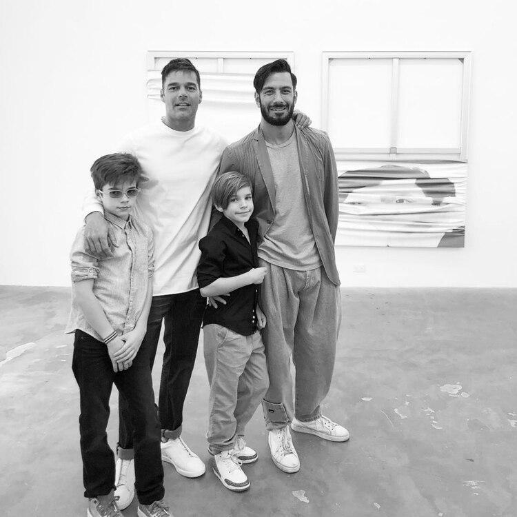 La familia de Jwan y Ricky (Foto: Instagram)