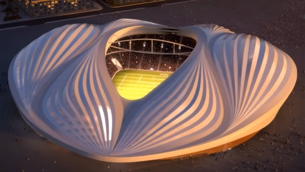 Estadio Al Wakrah de Zaha Hadid