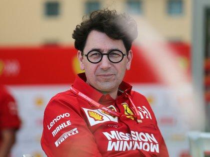 El director de Ferrari tuvo palabras de elogio hacia Hamilton  REUTERS/Hamad I Mohammed