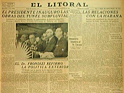 Tapa diario El Litoral