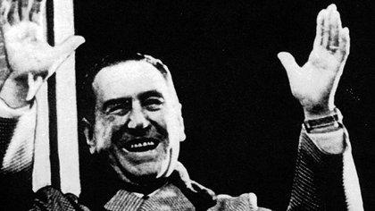 El 12 de junio de 1974 quedó en la historia como el día del último discurso de Juan Domingo Perón en la Plaza de Mayo (Foto: Antonio Pérez/Archivo Télam)