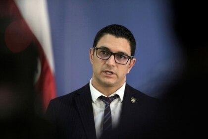 El ministro de Salud Daniel Salas