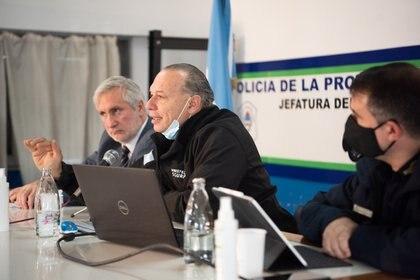 De la conferencia de prensa también participó el Procurador de la Suprema Corte, Julio Conte Grand