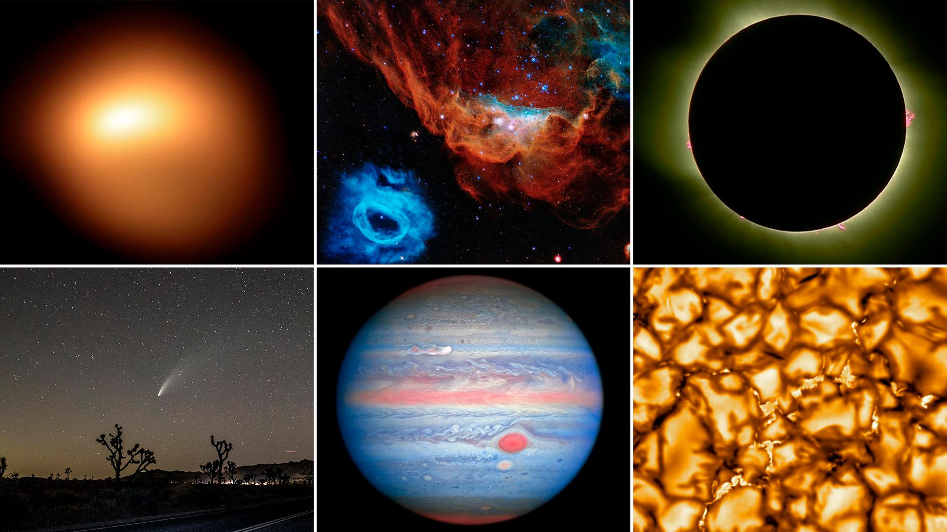 Las mejores fotos espaciales de 2020