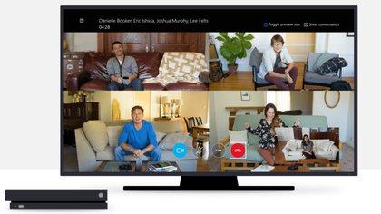 Además de la PC, el servicio de videochats se puede usar en celulares, iPhone, tablets y es compatible también con X-box y el asistente Alexa (Foto: Skype)