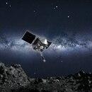 Ilustración de cómo la nave OSIRIS-REx se va a aproximar a Bennu para tomar muestras (NASA)