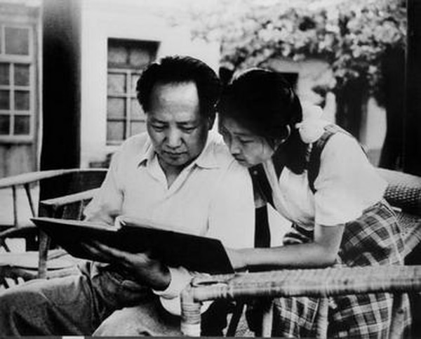 Li Min junto a su padre