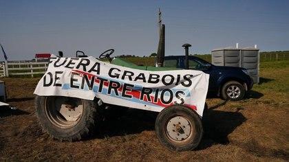 El reclamo de los productores en medio de la polémica entre los Etchevehere y el dirigente social, Juan Grabois (Franco Fafasuli)
