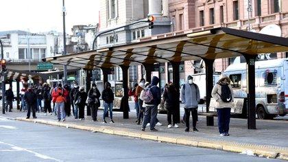 El último miércoles un 16% de los usuarios utilizaron transporte público en comparación con los pasajeros antes del comienzo de la cuarentena