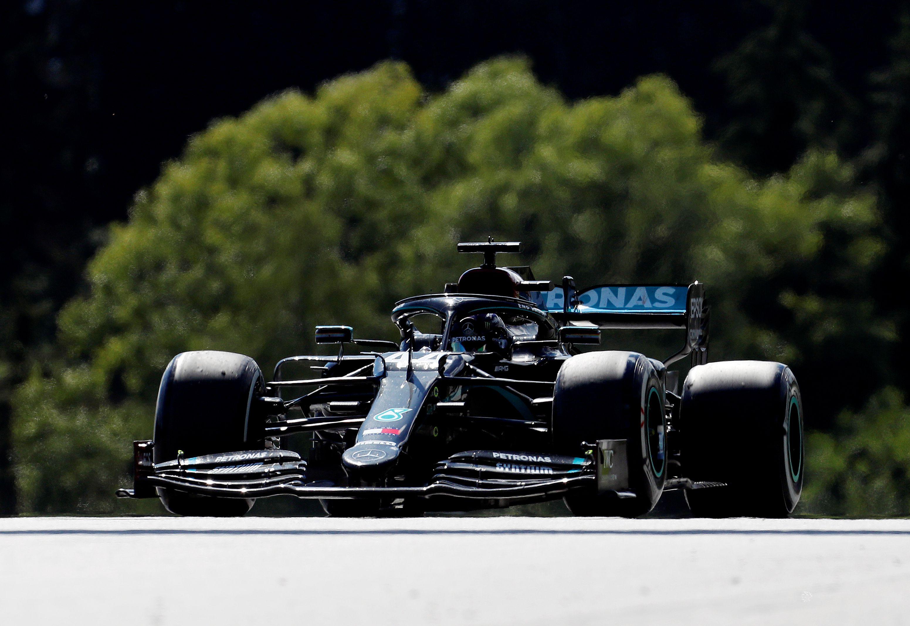 Hamilton terminó cuarto en Austra (Darko Bandic/Pool via REUTERS)