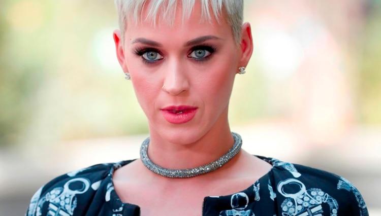 La cantante estadounidense Katy Perry (Foto: AFP)