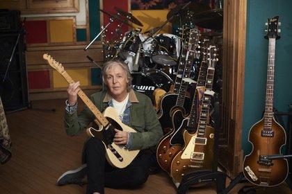 Paul McCartney tocó todos los instrumentos en su nuevo álbum (Foto Mary McCartney)