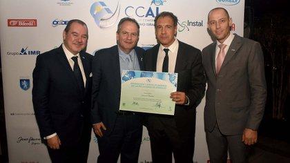 Mario Montoto, Ilán Sztulman, Daniel Hadad y Ronen Krausz