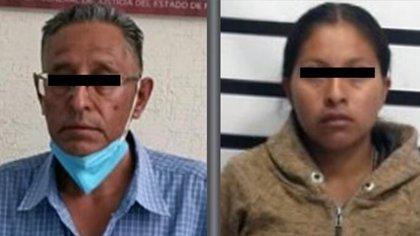 Ivonne ofertó a su hija en Facebook y Luis Enrique se llevó a su casa a la menor para abusar de ella Foto: (Fiscalía Edomex)