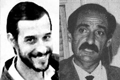 Los militantes peronistas Osvaldo Cambiaso y Eduardo Pereira Rossi