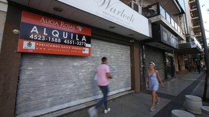En el período mayo-junio, los locales vacíos en la ciudad de Buenos Aires fueron 201