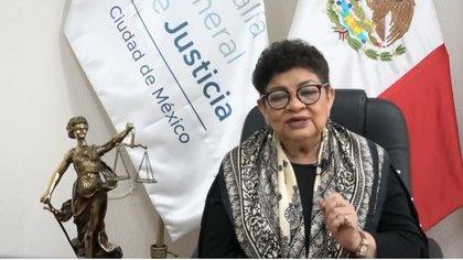 Mensaje a medios de la Fiscalía General de Justicia de la Ciudad de México, Ernestina Godoy Ramos
