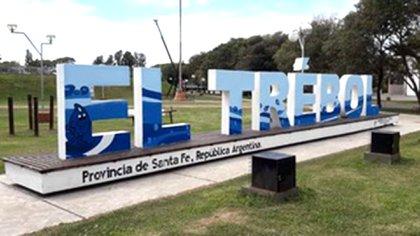 El Trebol se encuentra a menos de 200 km de Santa Fe y de Rosario