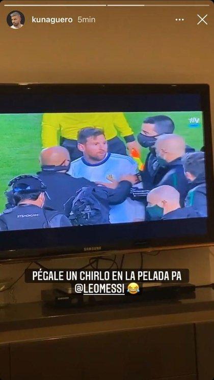 El Kun analiza a Messi