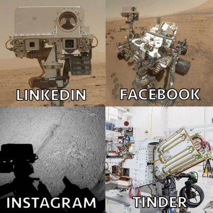 El Mars Rover, vehículo que transmite información sobre la superficie de Marte a la NASA, se sumó al desafío