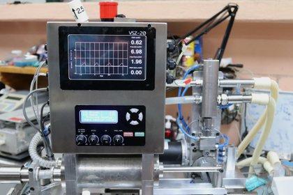 Un ventilador VSZ-20, en el Instituto Nacional de Ciencias Médicas y Nutrición Salvador Zubirán. (Foto: EFE/ José Pazos)