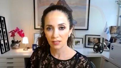Claudia Romo, la hija de la actriz, habló sobre la salud de su mamá (Captura de pantalla Ventaneando)