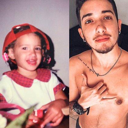 """""""Cuando era chiquito jugaba a que me tomaba una pastilla y me transformaba en Nicolás"""", cuenta"""