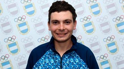 Alexis Eberhardt, uno de los atletas argentinos en Tokio 2020 (Prensa-COA)