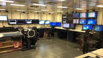 Una de las salas de operaciones del Sonne (V. I.)