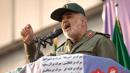 El general Hossein Salami, jefe de los Guardianes de la Revolución Islámica (Rouzbeh Fouladi/ZUMA Wire/dpa)