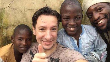 Luca Attanasio tenía 43 años y hacía casi cuatro que estaba radicado y trabajando para la pacificación de Congo (Luca Attanasio)