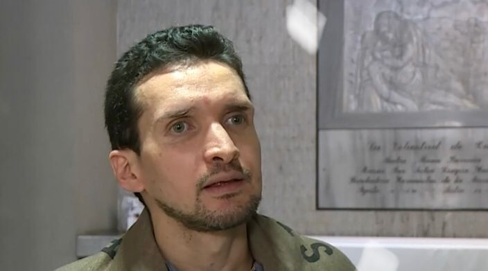 Sebastián Vásquez Sierra, beneficiado por el milagro de la madre María Berenice Duque. Foto: Cortesía Caracol Noticias