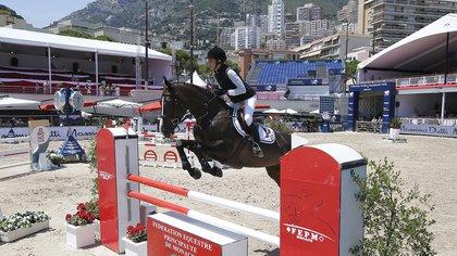 Su pasión por los caballos y la equitación (AFP)