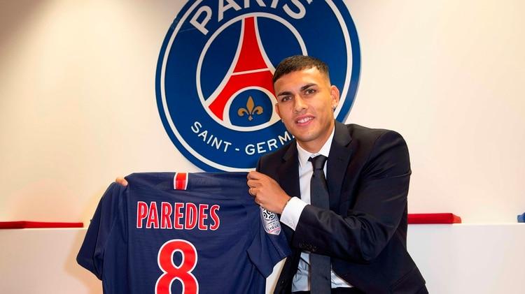 Paredes triunfa en el PSG (Foto: @PSG_inside)
