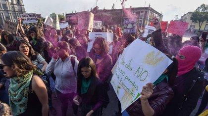 En 18 estados del país, de 32, mujeres salieron a manifestarse contra la violencia de género (Foto: Cuartoscuro)