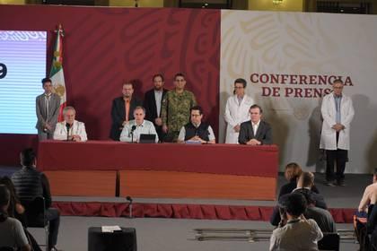 La SSa también se pronunció sobre el caso positivo de Omar Fayad, gobernador del estado de Hidalgo (Foto: Cortesía)