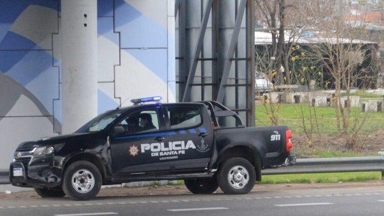 La Policía de Santa Fe quedó bajo sospecha por sus vínculos con las bandas narcos, a partir de la detención de su exjefe, Hugo Tognoli, en 2012. Foto: Fernando Calzada.