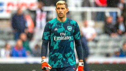 Emiliano Martínez lleva 10 años en el Arsenal FC y espera con ansias ser citado a la Selección Argentina (Shutterstock)