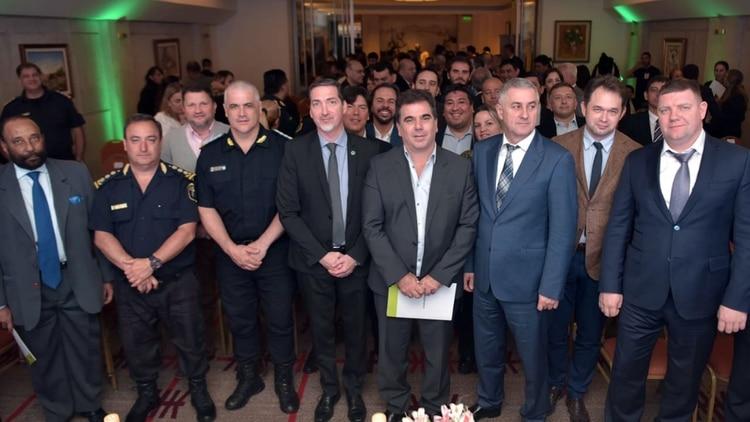 Al evento concurrieron fiscales, jefes policiales bonaerenses y de fuerzas federales, entre otros