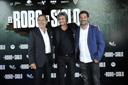 Guillermo Francella, Ariel Winograd y Diego Peretti