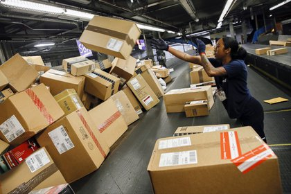 La tasa de devolución de compras electrónicas en EEUU pasó del 8% en 2016 al 10% en 2018. (Bloomberg/Patrick T. Fallon)