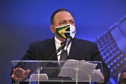 09/12/2020 El ministro de Salud de Brasil, el general Eduardo Pazuello. POLITICA SUDAMÉRICA BRASIL LATINOAMÉRICA INTERNACIONAL SAULO ANGELO / ZUMA PRESS / CONTACTOPHOTO