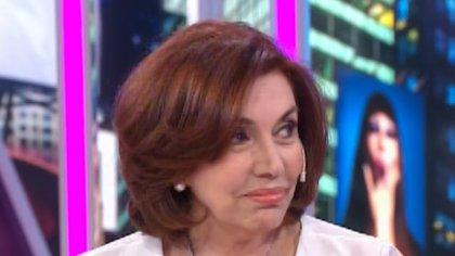 Nora Cárpena todavía no sabe si regresará a la televisión