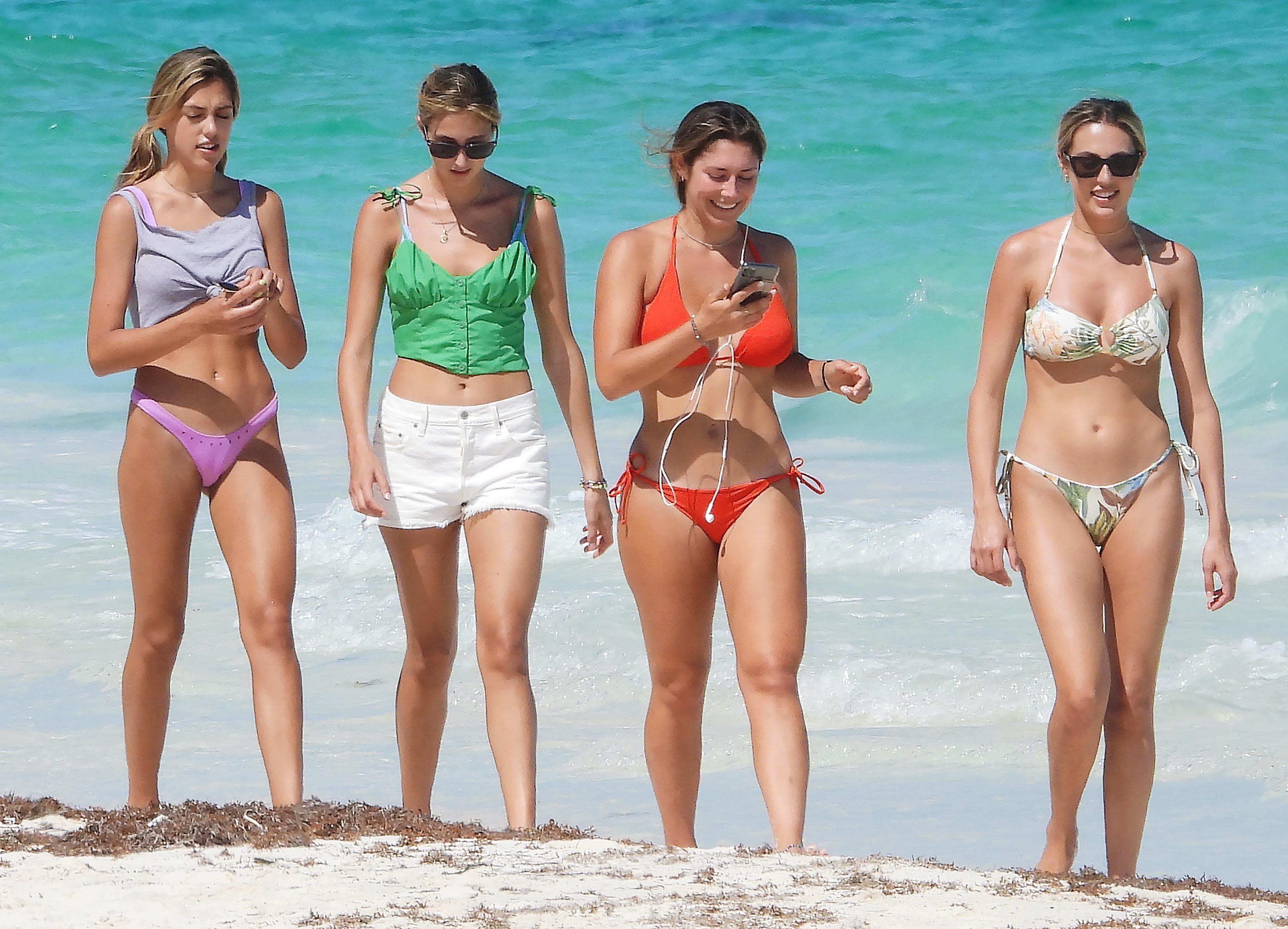EXC Sistine Stallone, Sophia Stallone, Scarlet Stallone